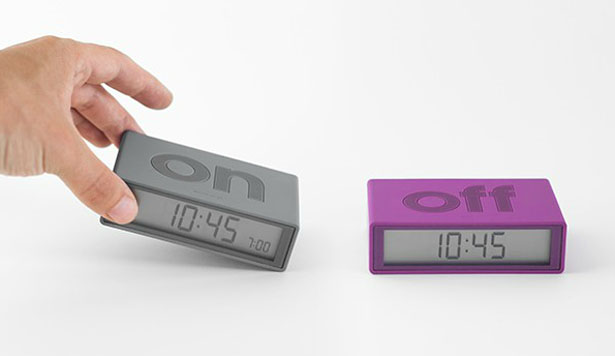 Flip Alarm Clock by DesignWright for Lexon
