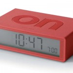 Lexon Flip Alarm Clock by DesignWright
