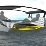 Float : Foldable Solar Catamaran To Spend Time At The Lake