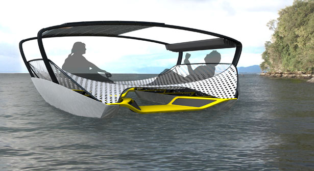 Float Foldable Solar Catamaran