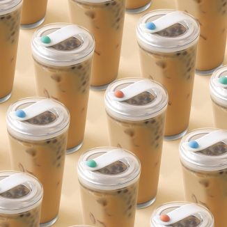 Float Strawless, Reusable Bubble Tea Cup to Reduce Plastic Waste