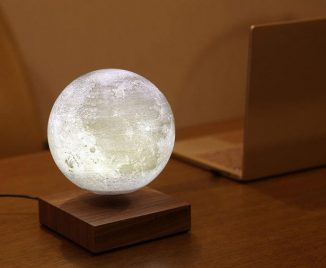 Floately LUNA Floating Moon Lamp Creates Soothing and Relaxing Atmosphere
