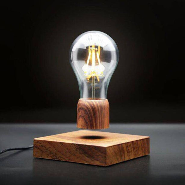Volta Floating Light Bulb by Floately