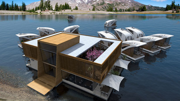 Floating Hotel with Catamaran-apartments Is Perfect for Nature Tourism
