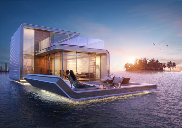 Floating Seahorse by Kleindienst Group
