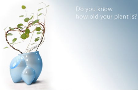 Flower Pot That Detects Your Plant Age
