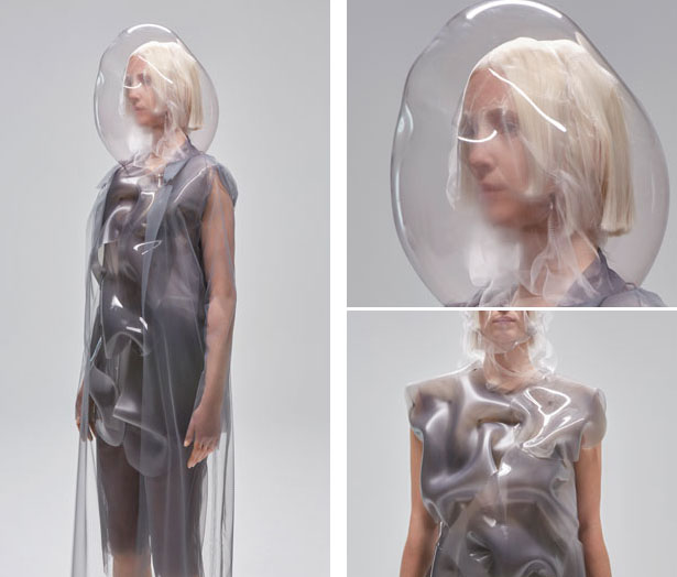 Flowing Water, Standing Time Project is a Cool Robotic Clothing by Ying Gao