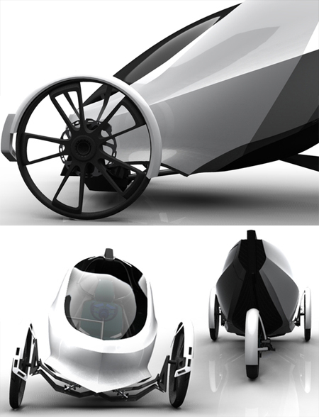 flux concept vehicle