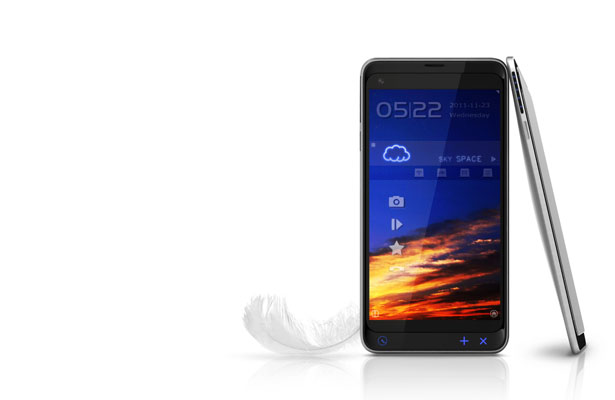 Fly Phone with Sky OS by Tryi Yeh