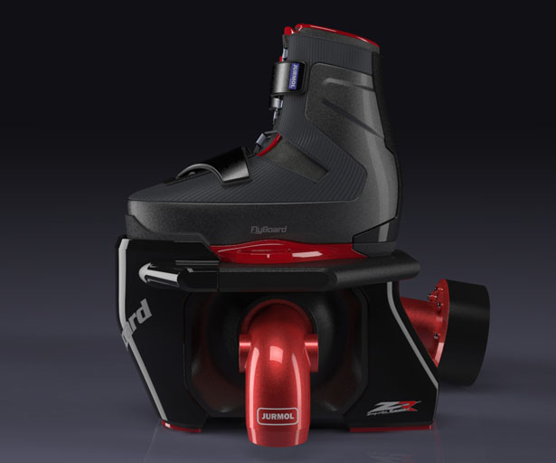 Flyboard Watersports Apparatus by Jurmol Yao