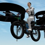 Amazing Futuristic Design Concept : Flying Bike by DesignYourDreams