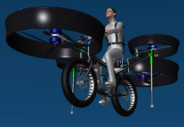 Flying Bike by DesignYourDreams