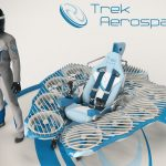 FlyKart2 Futuristic Flying Vehicle by Trek Aerospace
