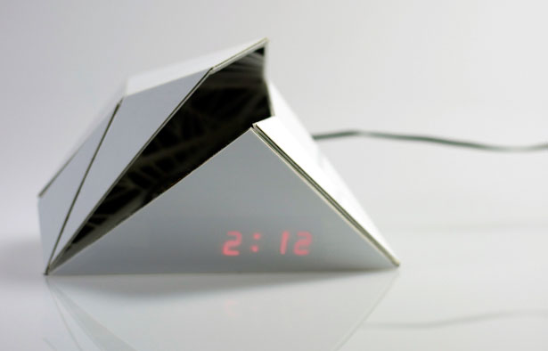 F.O. Playful Digital Clock by Shiping Toohey