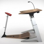 Focal Locus Workstation : Ergonomic Standing Workstation with Adjustable Desk