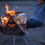 FOCANO Portable Fire Pit Helps Novice Campers Start a Fire Easily