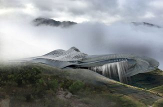 Fog Harnessing Spa Concept for Ilam District, Nepal