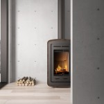 Fogo Montanha Natura Wood Stove Features Cork Cover to Its Structure