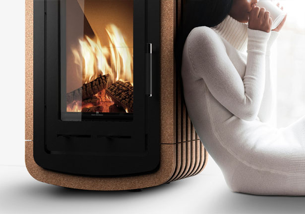 Fogo Montanha Natura Wood Stove by Inngage