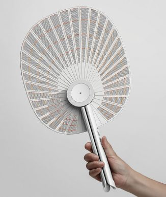 Fold – Foldable Electric Mosquito Net Concept Inspired by Korean Paper Folding Fans