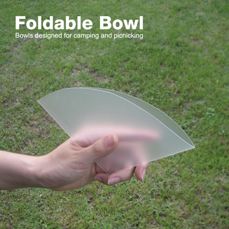 Foldable Bowl for Camping and Picnic