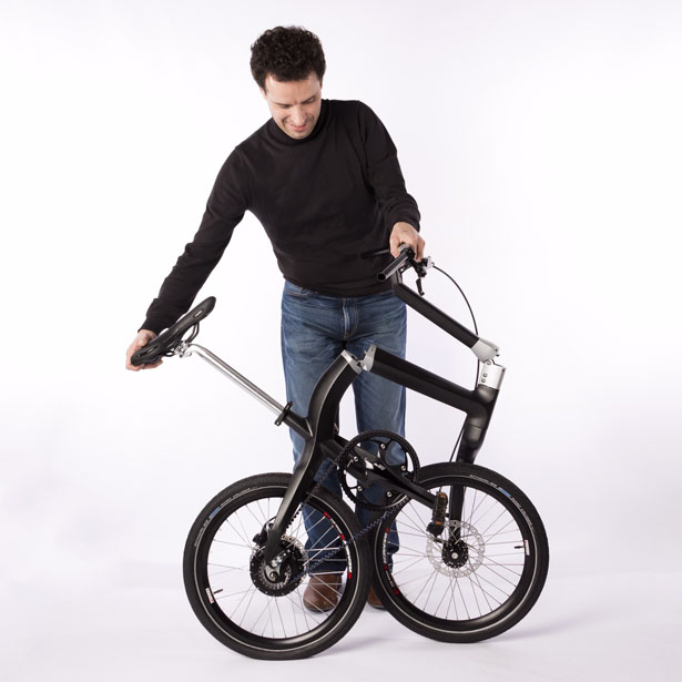 Foldable Carbon Fiber Bicycle by Boonen Design Studio
