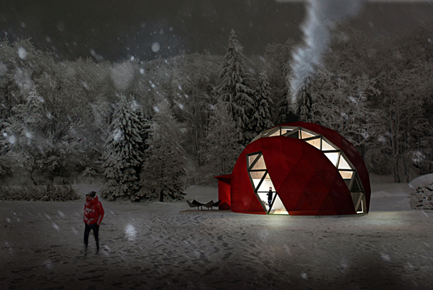 Foldable Dome by NRJA