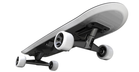 foldable skateboard concept
