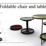 Foldable and Compact Table and Chair for Traveling