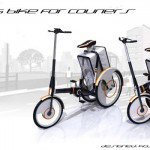 Folding Bike for Couriers by Anton Kosteckii