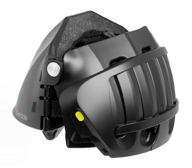 Folding Helmet Overade by Agency360