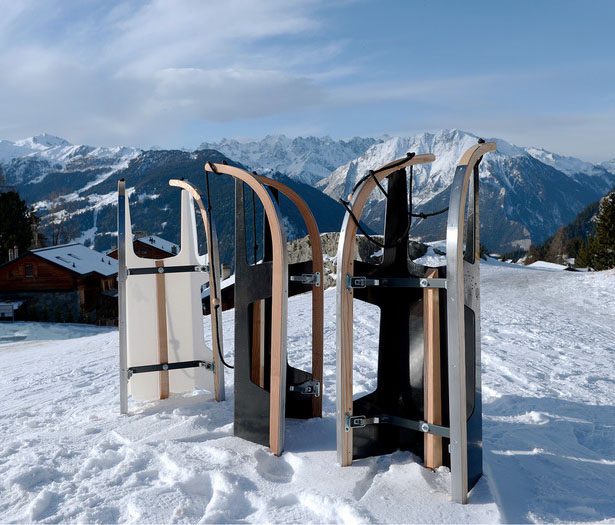Folding Sled by Max Frommeld & Arno Mathies