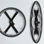 Folding Wheel Design for Wheelchair by Vitamins Design