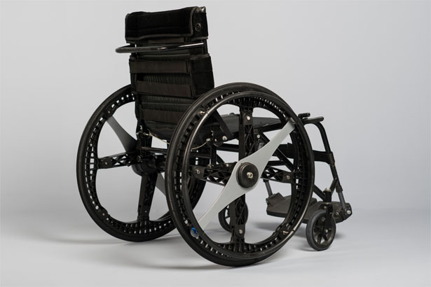 Folding Wheel Concept by Vitamins Design