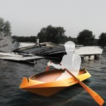 FoldingBoat : Quick and Easy Access Foldable Lifeboat