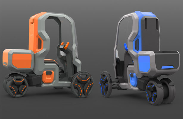 Follow Me Mobility Concept for Postal Delivery Services by Michael Barthels