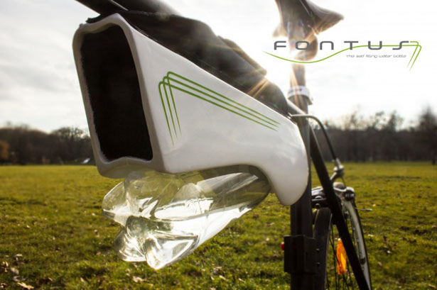 Fontus Self-Filling Water Bottle by Kristof Retezár