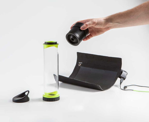 Fontus Self-Filling Water Bottle