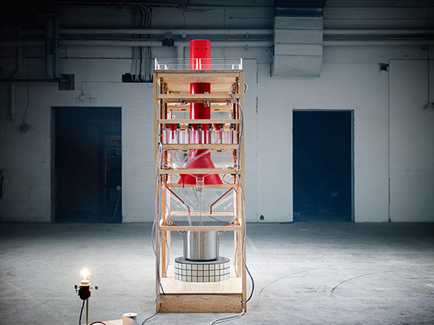 Food Machine by Collaborative Cooking