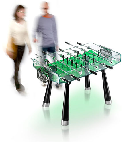 teckell collection foosball table