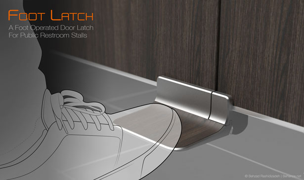 Foot Latch by Behzad Rashidizadeh