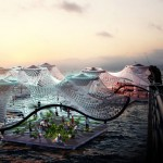 Foram : An Amphibious Pavilion That Functions As Water Purification Vessel