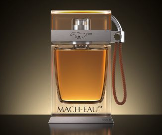 Ford Mach-Eau High-End Fragrance Smells Like Petrol with Smokey and Animal Accents to Remind You of Mustang Heritage