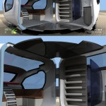 ForFreedom Caravan With Aerodynamic Design For Urban Couple