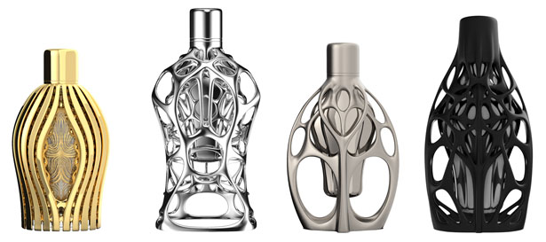 The First Formula 1 Perfume Series Utilize 3D Printing Technology