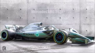 Formula 1 Car Concept for 2021 New Rules and Regulations