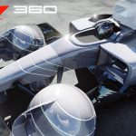 Formula One 360E Concept Racing Car Features Goodyear Eagle 360 Spherical Tire Design