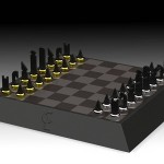 Carbon Chessboard by Dominik Scheurer & Partner