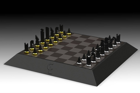 formula 1 chess board