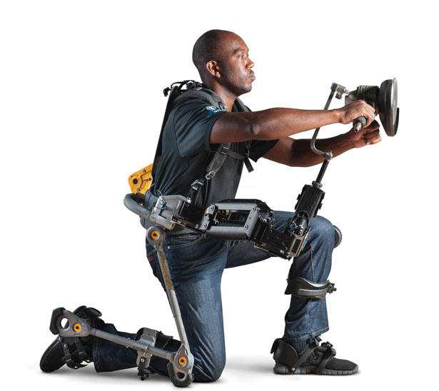 FORTIS Human Powered Exoskeleton by ROBRADY design